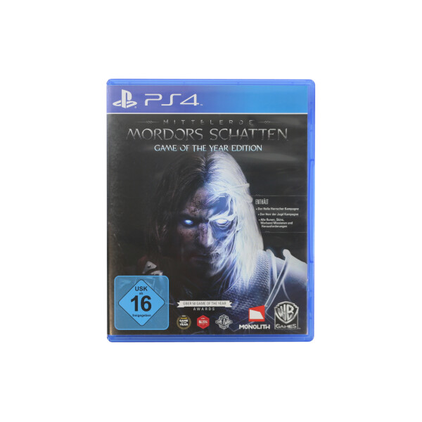 Mittelerde Mordors Schatten Game of the Year Edition PS4