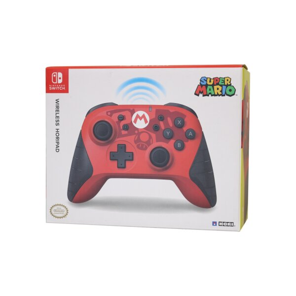 Hori Super Mario Wireless Controller Switch